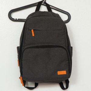 Cuddly Cubs Backpack Diaper Bag Dark Gray Changing